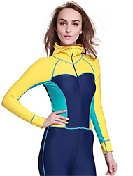 SBART Women's Wetsuits Full Wetsuit Ultraviolet Resistant Breathable Compression Full Body Tactel Diving Suit Diving Suits-Diving