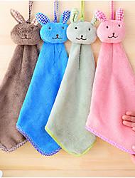 Micro Fiber Cartoon Soft Hooded Towel Quick-drying