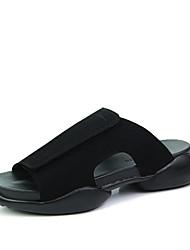 economico -Da uomo Pantofole e infradito Lattice Estate Casual Footing Piatto Bianco Nero Nero e Oro