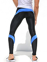 Men's Running Tights Gym Leggings Quick Dry High Breathability (>15,001g) Breathable Compression Lightweight Materials Tights Bottoms for