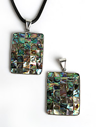 cheap -Women's Pendant Square Geometric Zinc Alloy Shell Fashion Jewelry For Daily