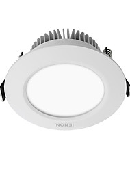 cheap -360-400/380-420lm 12 LEDs Easy Install Recessed LED Ceiling Lights Warm White Cold White AC 100-240V