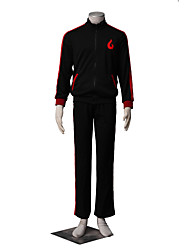 Inspired by Naruto Boruto Anime Cosplay Costumes Cosplay Suits Solid Long Sleeves Coat Pants For Male