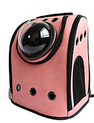 cheap -Cat Dog Carrier & Travel Backpack Astronaut Capsule Carrier Pet Carrier Portable Breathable Solid Black Coffee Rose Pink Pink