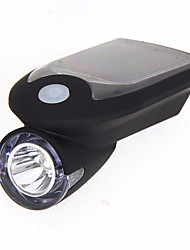 cheap -Front Bike Light / Headlight LED - Cycling Smart, Waterproof, Easy Carrying Mobile Battery 240 lum Solar / USB Camping / Hiking / Caving / Everyday Use / Cycling / Bike