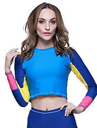 economico -SBART Per donna Per uomo Mute Dive Skins Resistente ai raggi UV Compressione Tactel Scafandro Maniche lunghe Scafandri Costumi da bagno-