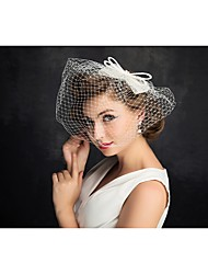 Pearl Net Fascinators Headpiece