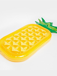 cheap -185 * 80cm PVC Adult Inflatable Air Cushion Pineapple Fruit Floating Row Floating Bed Water Summer Swimming Supplies