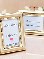cheap -Beter Gifts® Wedding Décor - 1Piece/Set - 50th Anniversary Place Holder Favor / Photo Frame Party Decoration