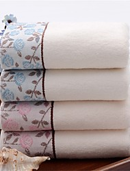 """1 Piece Full Cotton Hand Towel 29""""by13"""" Floral Pattern Super Soft"""