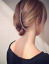 Недорогие -Женский Сплав металлов Заставка-Особые случаи На каждый день на открытом воздухе Гребни Заколки для волос Шпилька 1 шт.