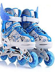 Unisex Schuhe maßgeschneiderte Werkstoffe Frühling Sommer Herbst Winter Roller-Skate Schuhe Sneakers Skaterschuhe Elastisch Klett Für