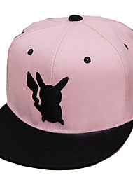 Hat/Cap Inspired by Pocket Little Monster PIKA PIKA Anime Cosplay Accessories Cap Figure Linen Male Female