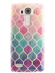 cheap -Geometric Pattern Painting Pattern TPU Soft Case for LG G4/G4Mini/G4C/G3Mini/G3