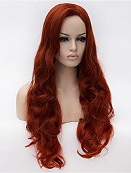 cheap -The New Wig Anime Characters cos 30 Inch Volume Classification in The Wine Red Hair