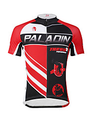 cheap -ILPALADINO Men's Short Sleeve Cycling Jersey Bike Jersey, Quick Dry, Ultraviolet Resistant, Breathable