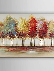 Oil Painting  Impression Landscape Trees Hand Painted Canvas with Stretched Framed Ready to Hang