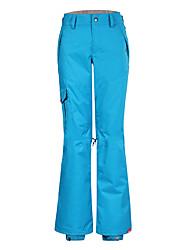 nieve Gsou pantalones al aire libre de esquí / snowboard / pantalones dobles de snowboard / señoras de las mujeres de los pantalones