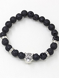 cheap -Men's Strand Bracelet - Fashion Leopard Gold Silver Bracelet For Daily