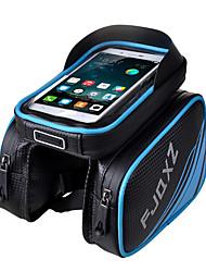 abordables -FJQXZ Bolso del teléfono celular / Bolsa para Cuadro de Bici 4.2 pulgada Pantalla táctil, Impermeable Ciclismo para iPhone 5/5S / Otros Tamaño Teléfonos similares Rojo / Cremallera a prueba de agua