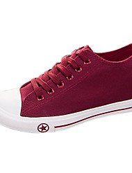 Women's Shoes Canvas Wedge Heel Comfort Fashion Sneakers More Colors available