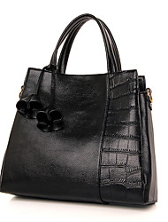 Women Bags All Seasons PU Tote for Shopping Casual Formal Office & Career White Black Red Blue