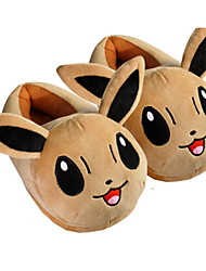 cheap -Pocket Little Monster Eevee With Ears Kigurumi Pajamas Warm Slippers With Collar and Heel Counter 28cm