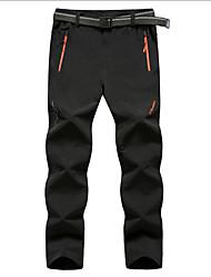 levne -XAOYO Cyklo kalhoty Pánské Jezdit na kole Spodní část oděvu Fleece Cyklistické oblečení Nositelný Jednobarevné Fitness Cyklistika / Kolo