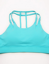 cheap -Women's Yoga Top - Black, Blue, Pink Sports Top Running, Fitness, Gym Sleeveless Activewear Breathable, Soft Stretchy