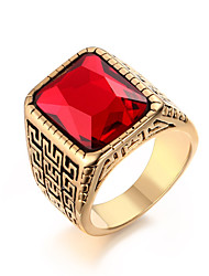 cheap -Rock Character  18K Ruby Ring