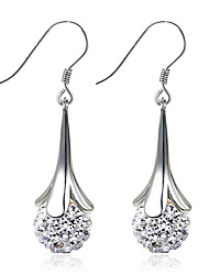 cheap -Women's Earrings - Sterling Silver, Silver Fashion, Birthstones Silver For Wedding / Party / Daily