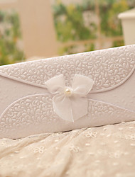cheap -Tri-Fold Wedding Invitations 50-Invitation Cards Classic Style Butterly Style Fairytale Theme Pearl Paper Ribbons