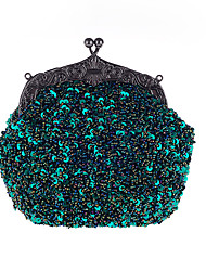 cheap -Women's Bags Other Leather Type / Polyester Evening Bag / Cover Sequin Metallic Wine / Dark Gray / Champagne