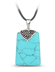 Women's Pendant Necklaces Synthetic Gemstones Fashion Vintage Jewelry For Daily Casual