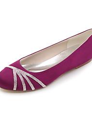 Недорогие -Черный / Синий / Розовый / Фиолетовый / Красный / Айвори / Белый / Серебристый - Свадебная обувь - Женский - С круглым носком -Обувь на