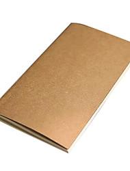 Kraft Paper Travel Notebook (Random Color)
