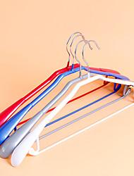 1PC 45*20CM Colour Makeup Wide Shoulder Clothes Hangers (Random Color)