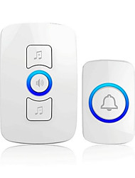 cheap -The Wireless Doorbell Doorbell Household AC Electronic Remote Control Remote Call For A Battery To Send A Man