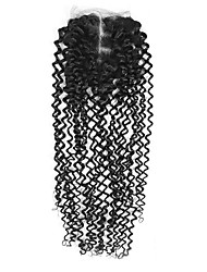 economico -8 inch-20 inch Nero U Part Kinky Curly Capelli Chiusura Castano medio Uncinetto svizzero 26 grammo Media Cap Size