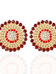 cheap -Women's Stud Earrings / Drop Earrings - Fashion Coffee / Red / Blue For Wedding