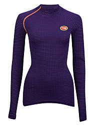 Sports Cycling Tops Women's Bike Ultra Light Fabric / Compression Long Sleeve LYCRA® / Terylene / CoolmaxClassic