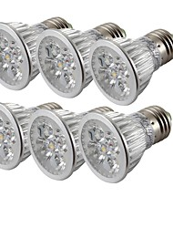 cheap -4W E26/E27 LED Spotlight MR16 4 High Power LED 300-350 lm Warm White Cold White 3000/6000 K Decorative AC 85-265 V