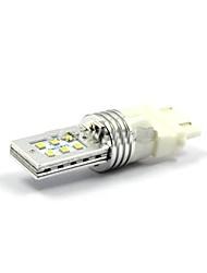 2pcs 12W 3157 / t20-12smd-2323 белый автомобиль автоматический свет СИД сигнала поворота света, дополнительный стоп-сигнал, обратный лампы