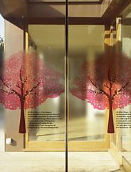 Película para Vidros-Árvores/Folhas- ESTILOContemporâneo