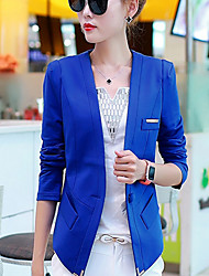 cheap -Women's Casual/Daily Casual Fall Blazer