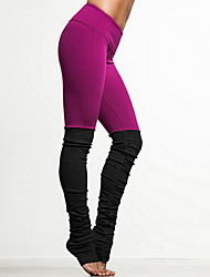cheap -Yoga Pants Breathable / Stretch Natural Stretchy Sports Wear Pink / Black / Blue Sports Yoga