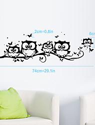 billige -Dekorative Mur Klistermærker - Fly vægklistermærker Mode Stue / Soveværelse / Badeværelse / Kan fjernes