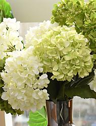 Недорогие -Искусственные Цветы 1 Филиал Простой стиль Гортензии Букеты на стол