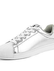 cheap -Men's Fashion Shoes Casual/Travel/Youth Microfibre Board Flats Shell Shoes
