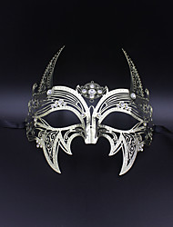 Medieval knight laser cutting hollow metal shield mask......6001A3